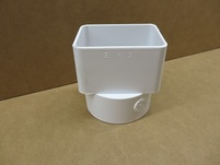 More about the '2x3x3 White PVC Center Mount Tile Adapter' product