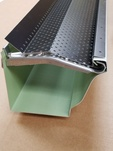 "More about the '5"" Black-----REAL® Gutter Cover for use with Hangfast™ or similar hangers (Copy of BG5398.4)' product"