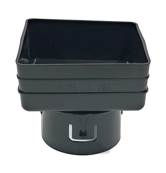 "5X5X4"" Downspout Adapter"
